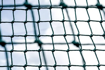 knot rope mesh closeup abstract isolated background pattern close up