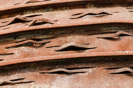 old rusty metal surface close up pattern background