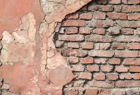pattern old brick wall close up background backdrop Stok Fotoğraf