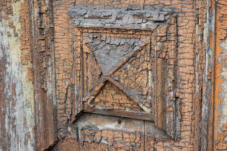 old vintage wood decor close up background