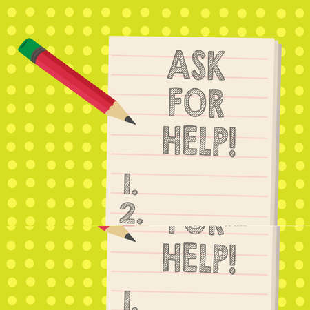 Word writing text Ask For Help. Business concept for Request to support assistance needed Professional advice 免版税图像