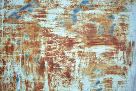 Texture old paint on a rust metal surface. Metal background, rust, copy space Banque d'images - 137853586