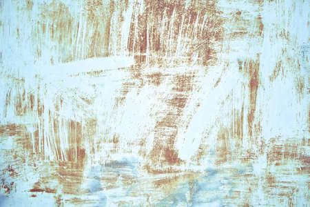 Texture old paint on a rust metal surface. Metal background, rust, copy space Banque d'images - 137853181