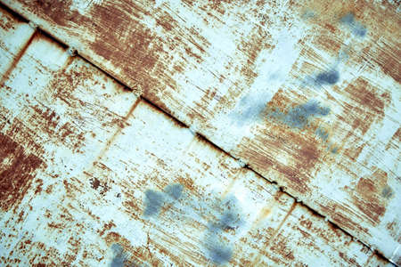 Texture old paint on a rust metal surface. Metal background, rust, copy space Banque d'images - 137856089