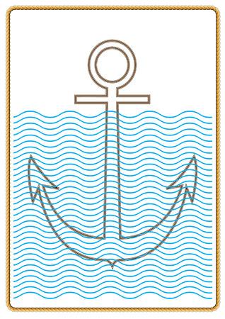 Anchor.Icon. Illustration