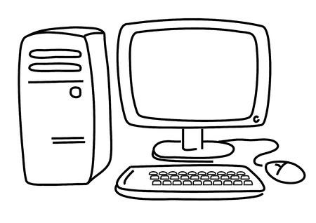 PC.Modern computer