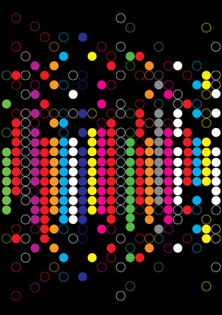 Background.Color dot abstract Vector