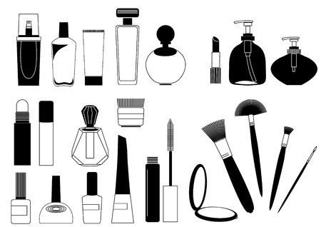 lotion bottle: Cosmetics