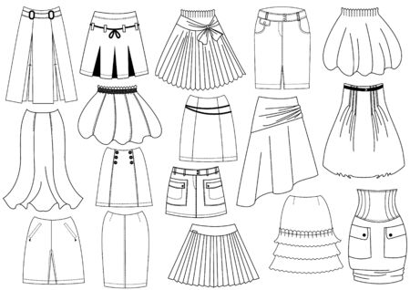 skirts: Faldas