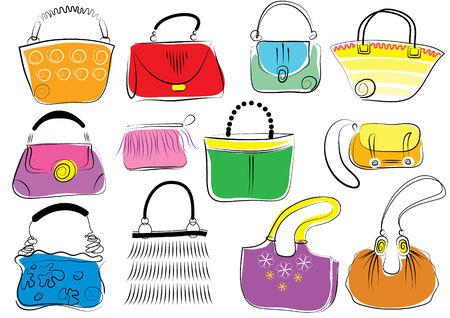 Vector bags for women Vector