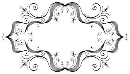 crouch: Vector vegnette on white