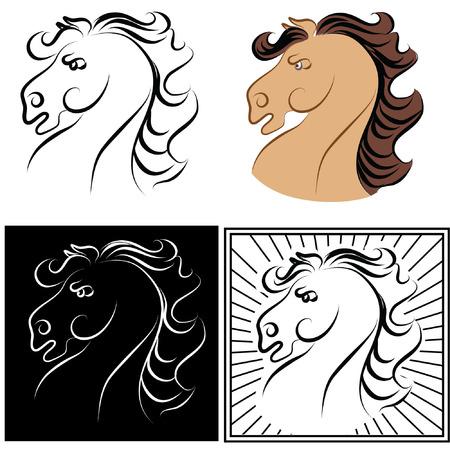 Horses. symbol