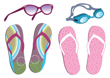 vocation: summer shoes and sunglasses for vocation.