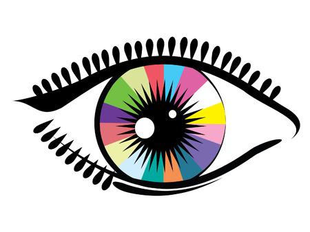 Eye. Vector