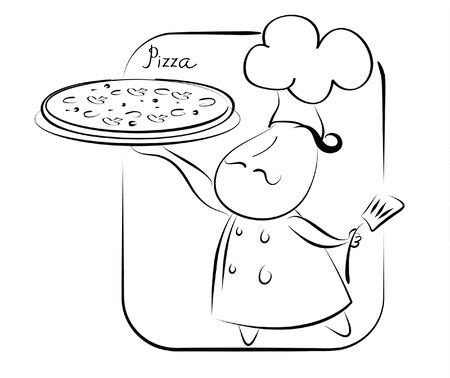 Pizza symbol  Vector