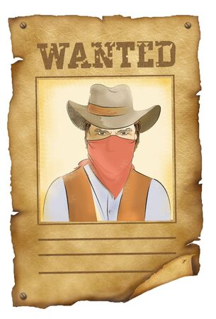 Wanted poster. photo