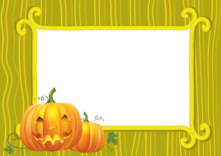 Halloween . Vector background for text.