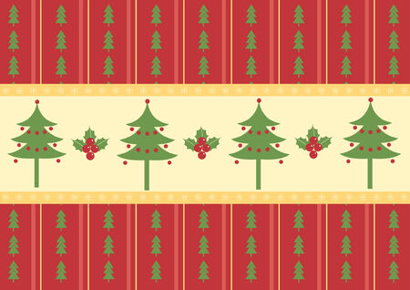 Christmas decoration.vintage pattern. Stock Vector - 8267601