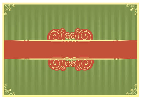 Christmas card.vintage background for text. Stock Vector - 8356408