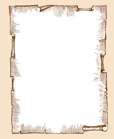antique paper background for text Vector