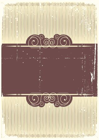 vintage background with vignettes.Abstract paper for design Stock Vector - 9358931