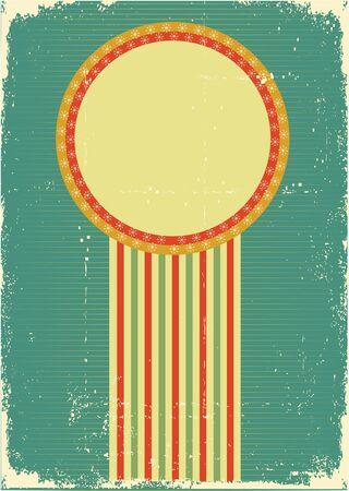 Vintage Christmas card .Vintage background for design Vector