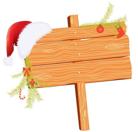 Weihnachten Hintergrund für Text mit Elementen Urlaub auf weiß