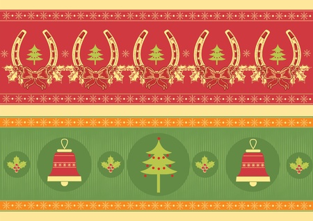 christmas decoration elements for design.New year image Vector