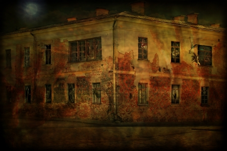 Old house ghosts