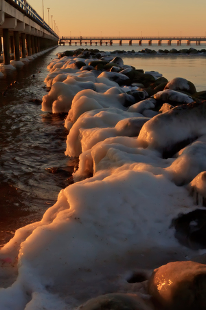 icy: icy rocks