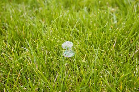 Soap bubble in close Stock Photo - 23215033