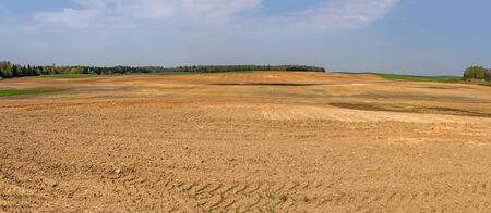 plowed: Plowed fields