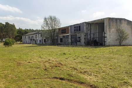 bombed city: AAbandoned old building