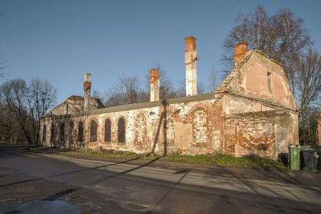 Abandoned house photo