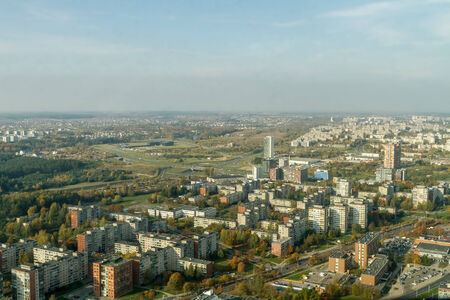 multi storey: City from The Top Of Stock Photo