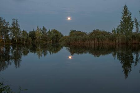 Peaceful evening photo