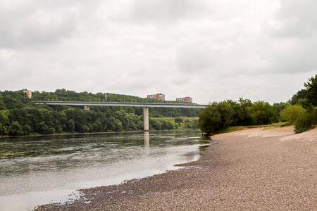 bridge over water: small Bridge over the city