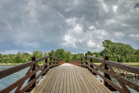 walpaper: Bridges and bridges in different places of Lithuania