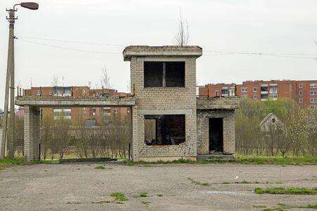 abandoned building: abandoned building Stock Photo