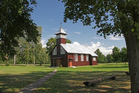 monasteries: wooden church cemetery