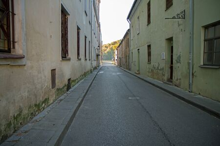 narrow: narrow street Stock Photo