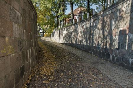 narrow street: old citys narrow street Stock Photo