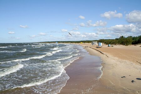 uninhabited: near Baltic sea Stock Photo