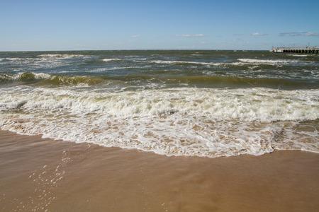 uninhabited: Calm sea in summer day