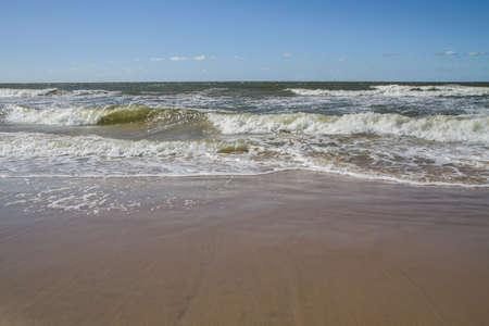 uninhabited: waves of the sea shore