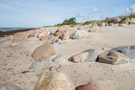 gold coast: stones Stock Photo