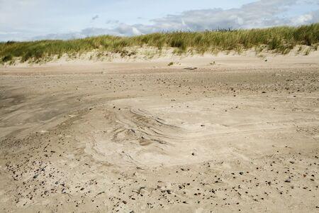 gold coast: sand near the sea