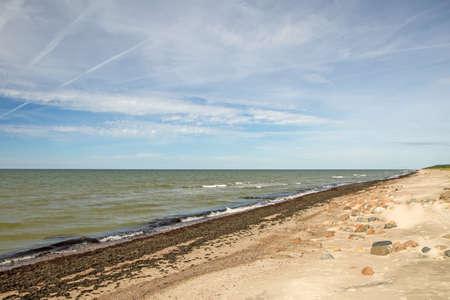 midday: beach Stock Photo
