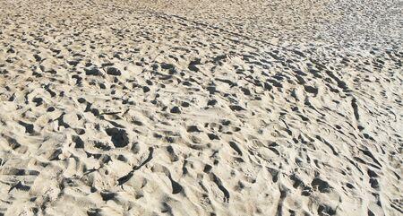 uninhabited: light sand Stock Photo