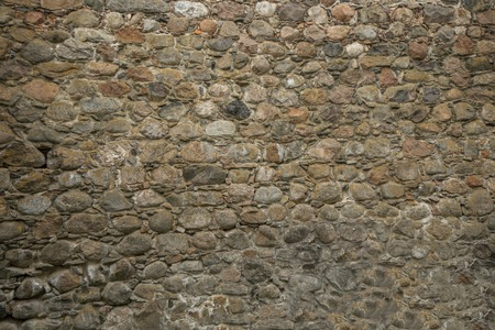 Steinburgmauer Standard-Bild - 41229288